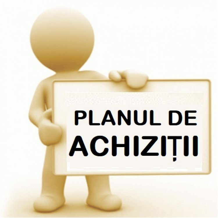Planul anual de achiziții publice pentru anul 2021 (modificat 03.09.2021)